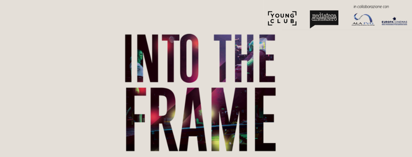 into the frame